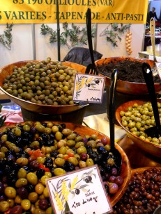 olives and tapenade