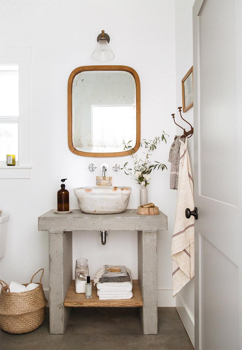 21 ideas para decorar con espejos vintage