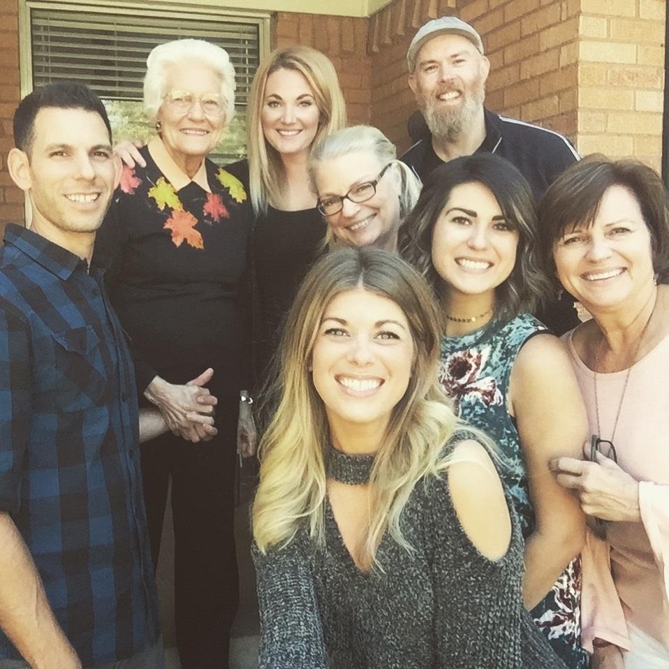 Thanksgiving family photo