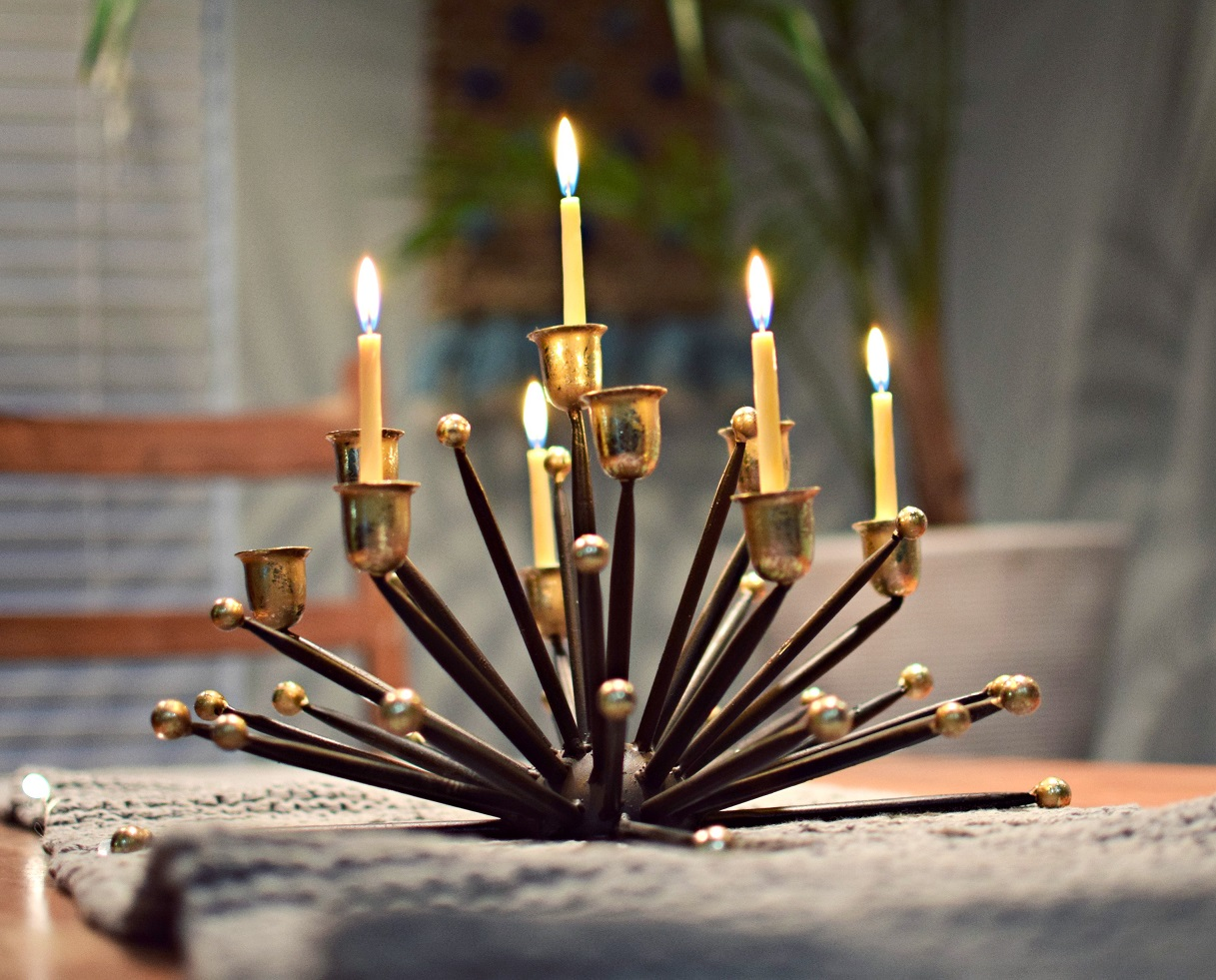 candle holder centerpiece home decor
