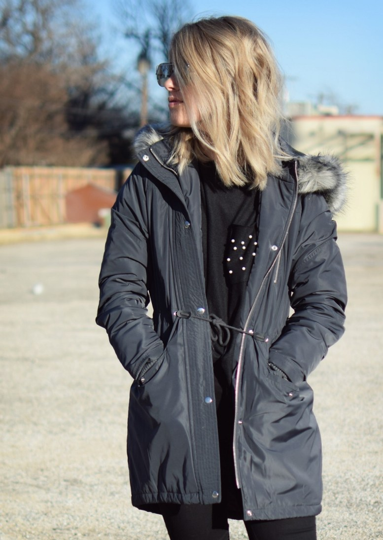 target puffer winter jacket