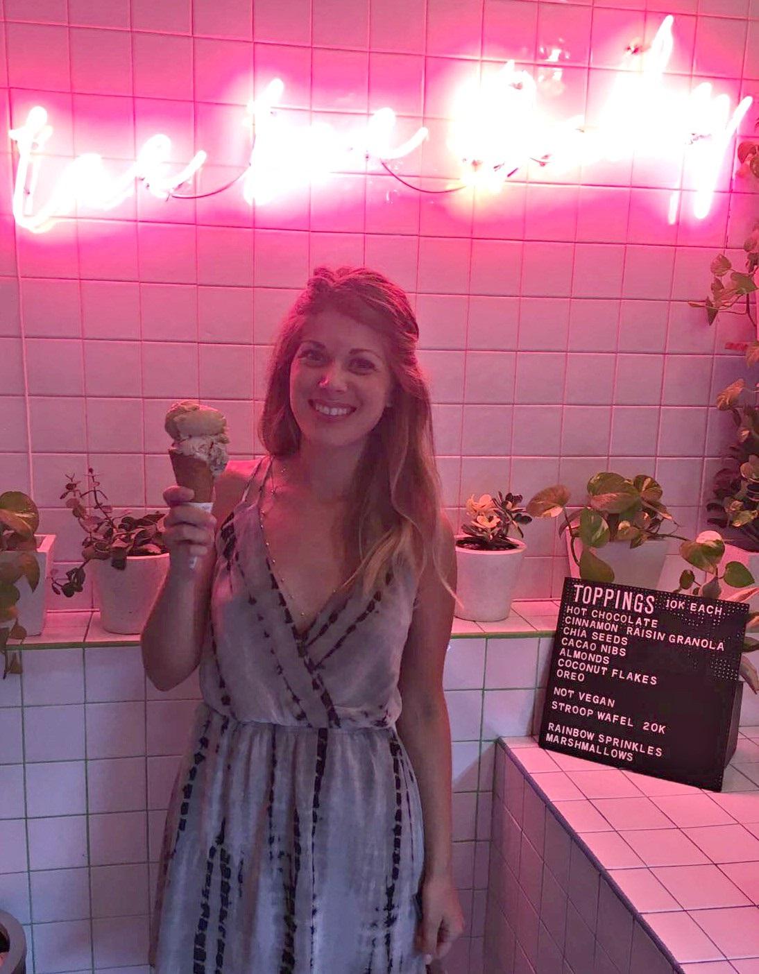ice cream seminyak bali