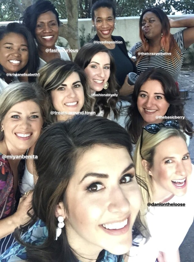 girls from dallas blogger meetup