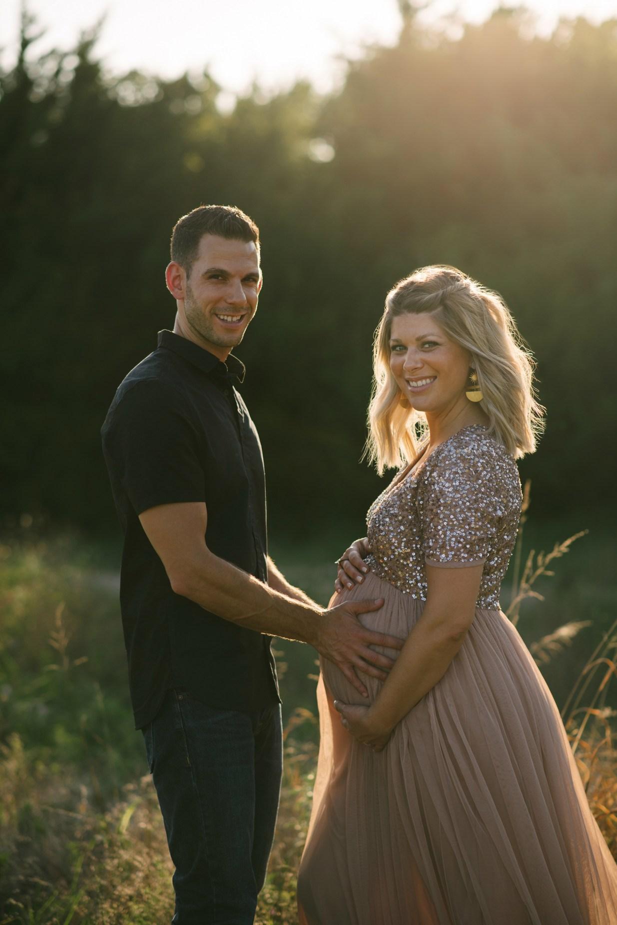 bohmian ethereal maternity photoshoot