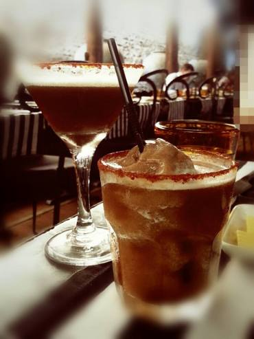 Tamarind Martini and Margarita @ Gallery Cafe