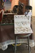 Book Jewelry Display at Marry Me Indie in Tulsa, OK.
