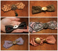 steampunk bow ties | bohemianromance