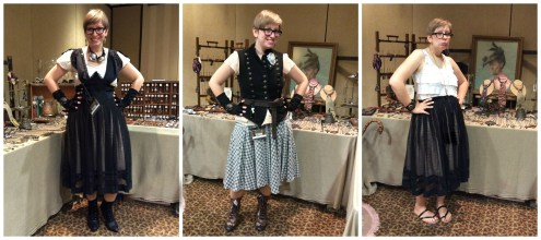 My outfits for the Steampunk World's Fair in New Jersey.