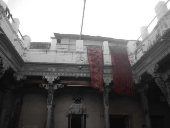 The home with 80 rooms, during Ahmedabad Heritage Walk