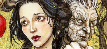 Snow White (detail), by Soni Alcorn-Hender