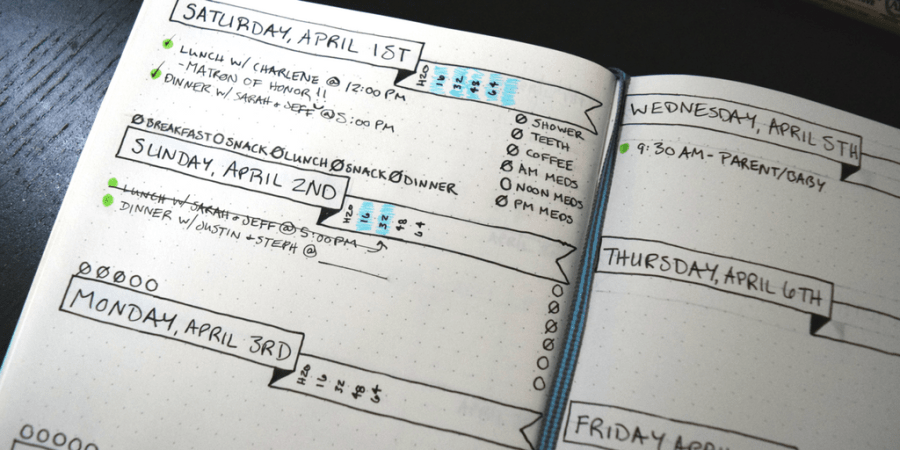How I Use My Bullet Journal to Track My Mental Health and Self-Care | A Bullet Journal can be an efficient method for keeping track of every aspect of your life, but did you know you can track your mental health also? Using my BuJo for mental health and self-care helps me recognize when I'm healthy and when I need to ask for help. Learn how to set up your own spreads here.