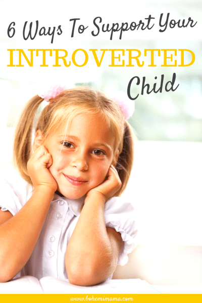 Having in introverted child brings its own unique challenges. Whether you understand her or not, these tips will help you equip your little introvert to be brave, understanding, and true to herself. Pin this for later or learn more by clicking the picture now.