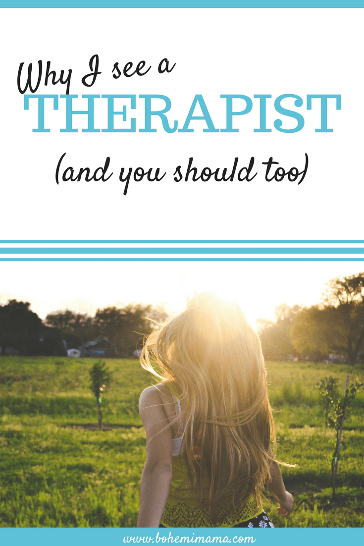Why I See a Therapist (And You Should Too)