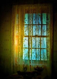 rainbow green window