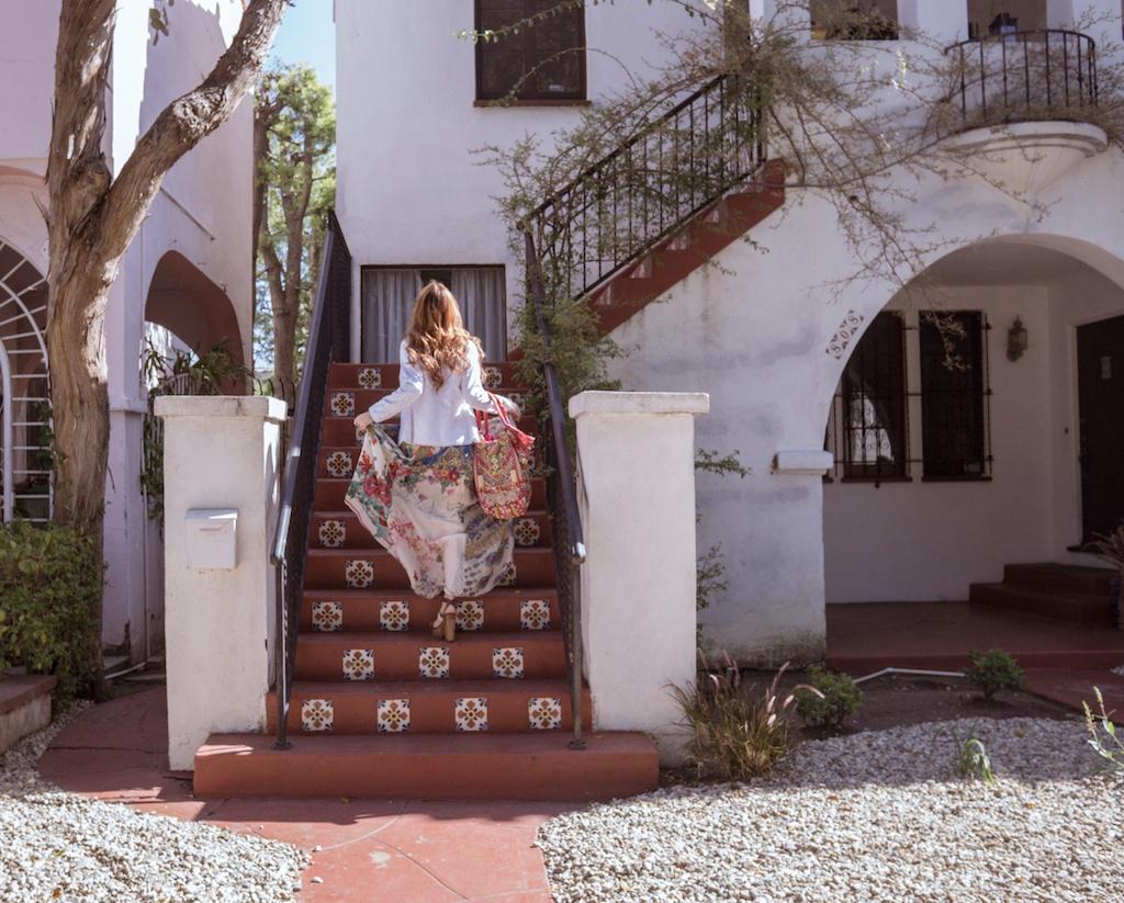 pachamama-bohemian-johnny-was-clothing-boho-beaded-bag-silk-scarf-maxi-dress 4