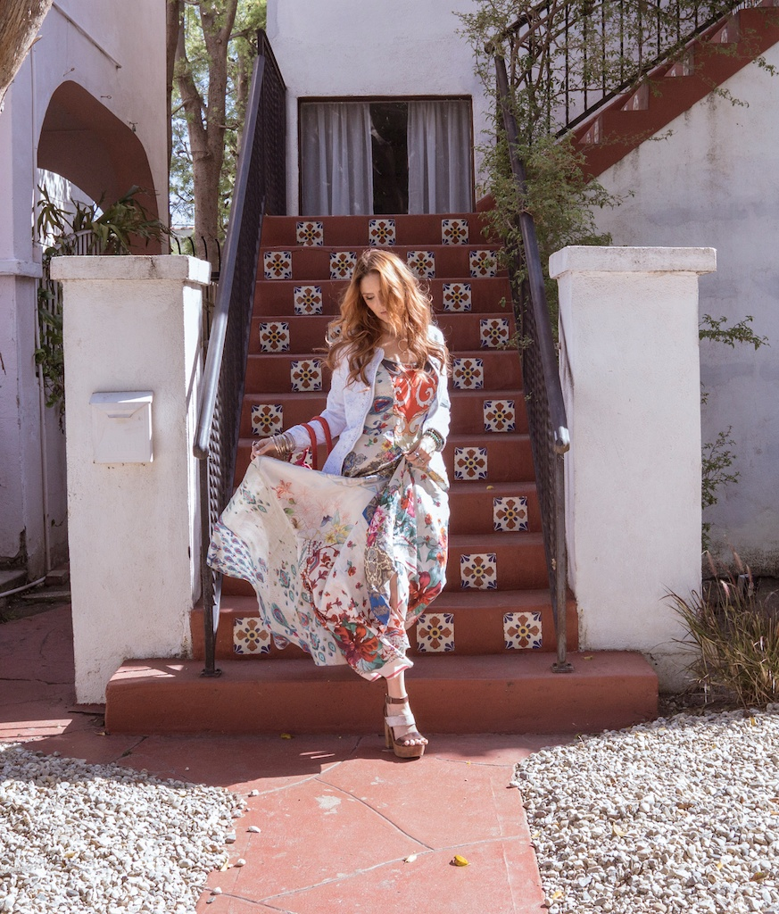 pachamama-bohemian-johnny-was-clothing-boho-beaded-bag-silk-scarf-maxi-dress 5