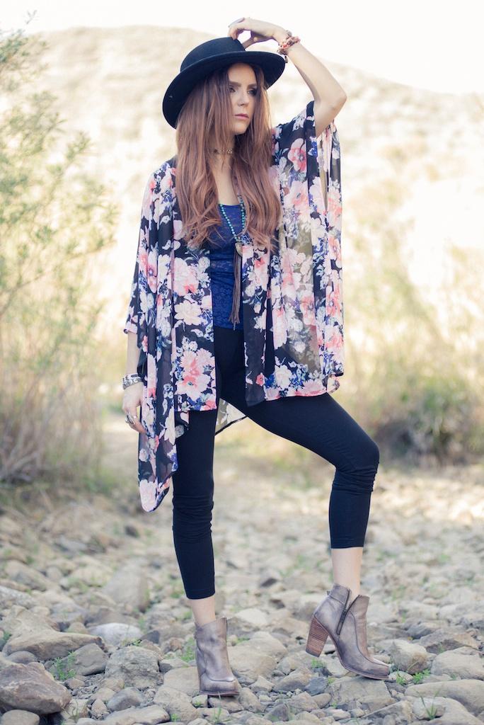 ruby-ribbon-kimono-shawl-floral-print-shape-wear-bohemian-western-bedstu 2