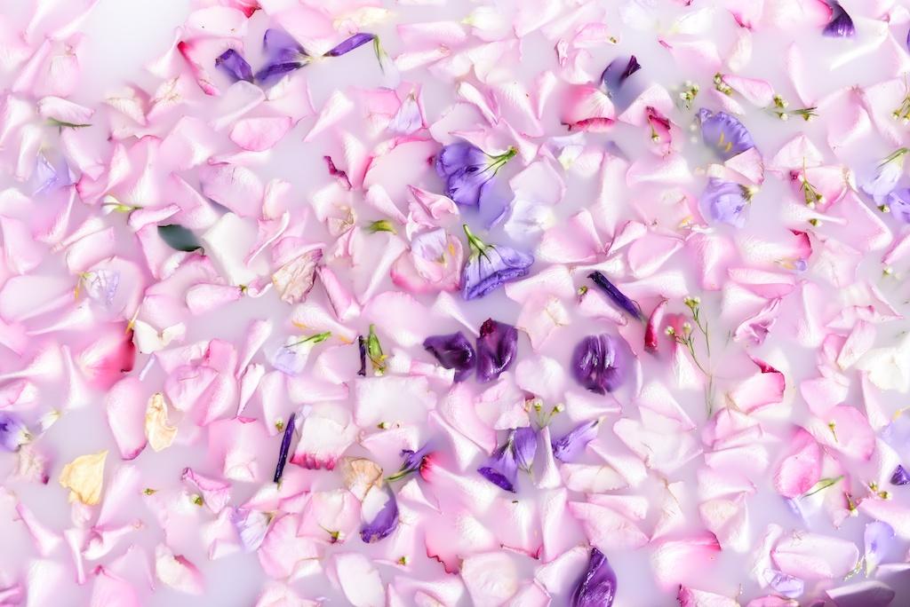 flower-bath-flores-lane-soy-candles-boho-bunnie-overtone-hair-color-inspiration-rose-milk-bohemian-fashion-blogger-joshua-tree-retreat- 27