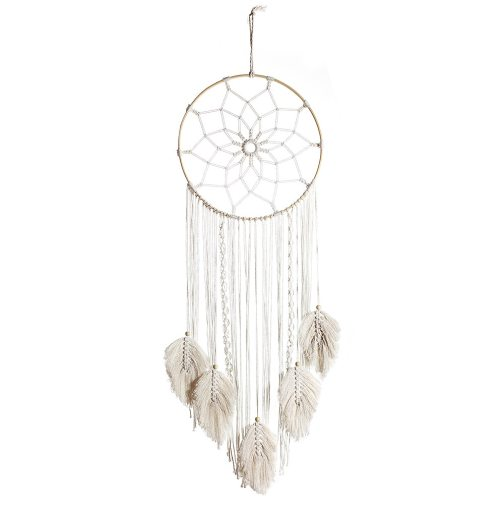 Bohemian Hand Woven Elegant Beautiful Hanging Hoops Wall Decor For Home Living Room Macrame Tapestry Wall Hanging Boho
