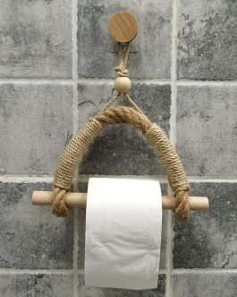Boho Chic Vintage Toilet Paper Holder