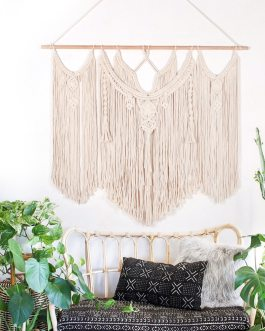 Boho Chic Hand-made Woven Tapestry