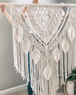 Boho Chic Macrame Wall Hanging Tapestry