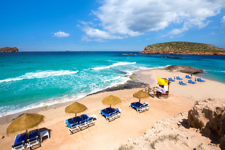 Cala Comte en Ibiza, Islas Baleares