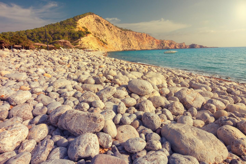 Cala Jondal en Ibiza, Islas Baleares