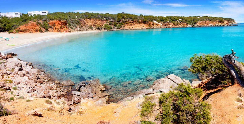 Cala Llenya en Ibiza, Islas Baleares