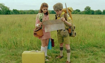 Moonrise Kingdom (written & directed by Wes Anderson)