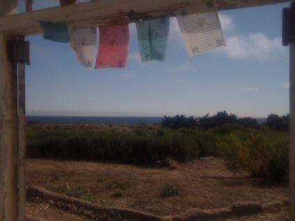 Path to the beach along the Santa Barbara coast