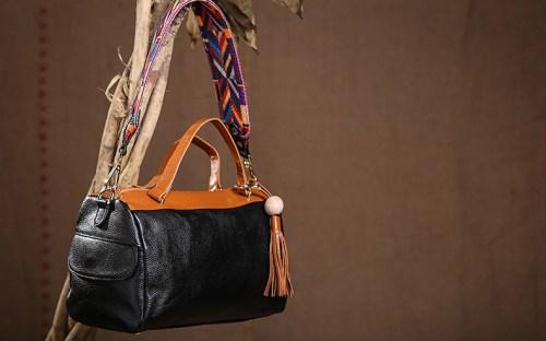 Tokharoi кожаная сумка с молнией