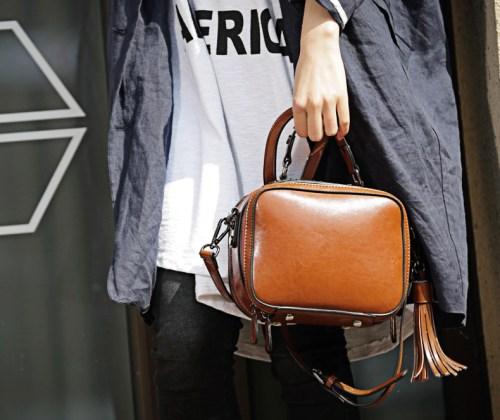 Tokharoi сумка с кисточкой