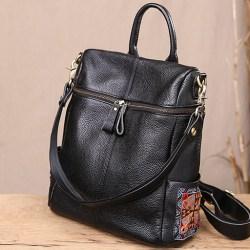 Tokharoi кожаный рюкзак с молнией
