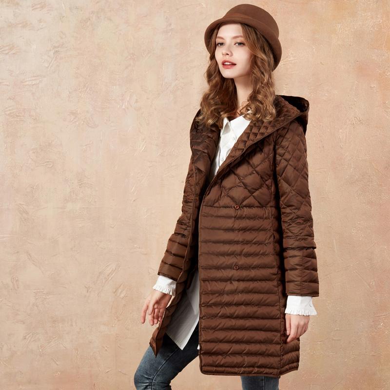 Artka пальто коричневое с пуговицами