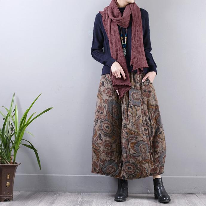 Sweet corset юбка-бутон с узорами