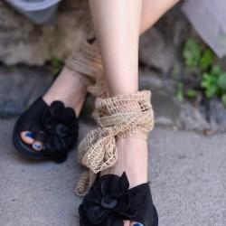 Artmu оригинальные сандалии с цветком