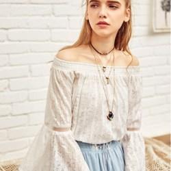 Artka блуза с открытыми плечами