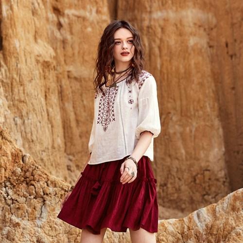 Artka блуза с вышивкой
