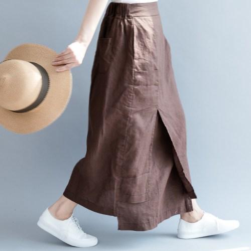 QINGZHUO А-образный силуэт юбка