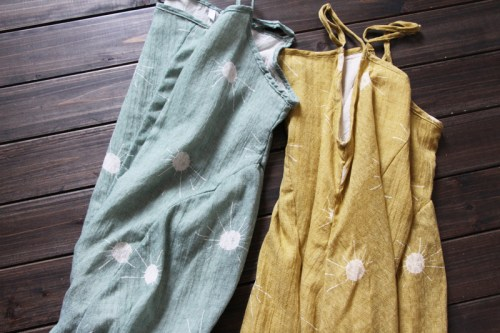 Sweet corset комбинированный летний сарафан