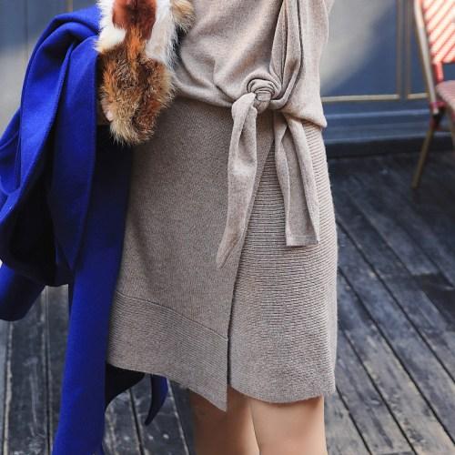 Artka трикотажная юбка с запахом