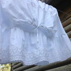 Нижние юбки из кружевного шитья