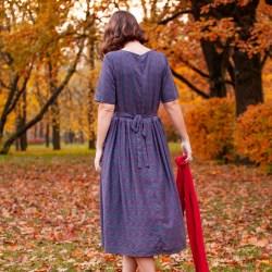WonderMary платье с кружевным воротничком