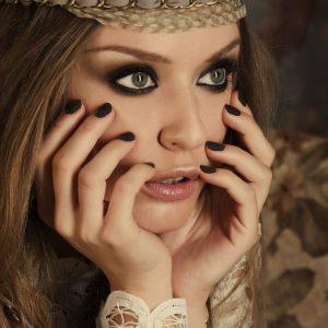 Прекрасный макияж в стиле Бохо