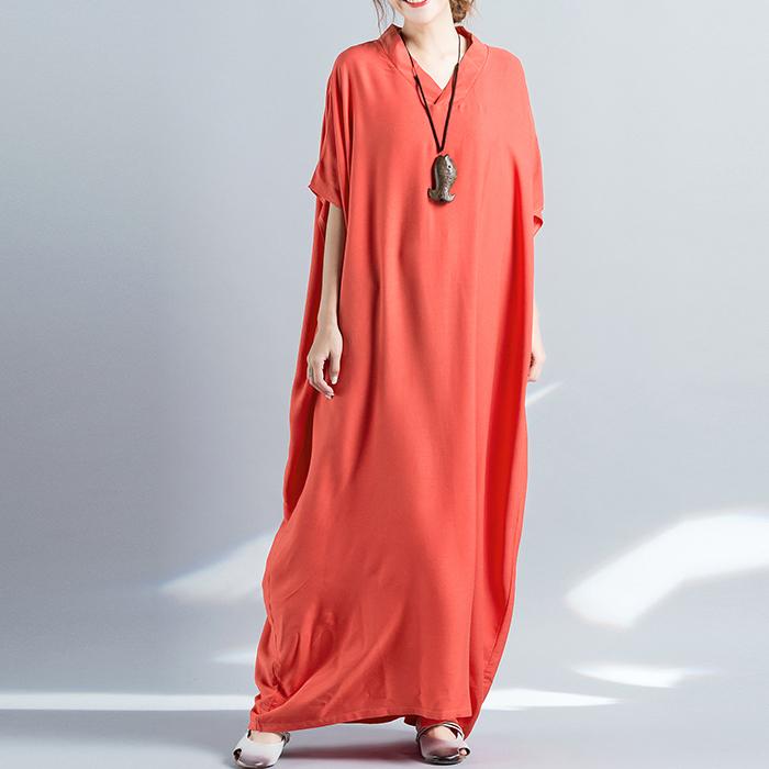 Wuxi свободное однотонное платье