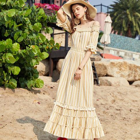 Artka платье с воланами