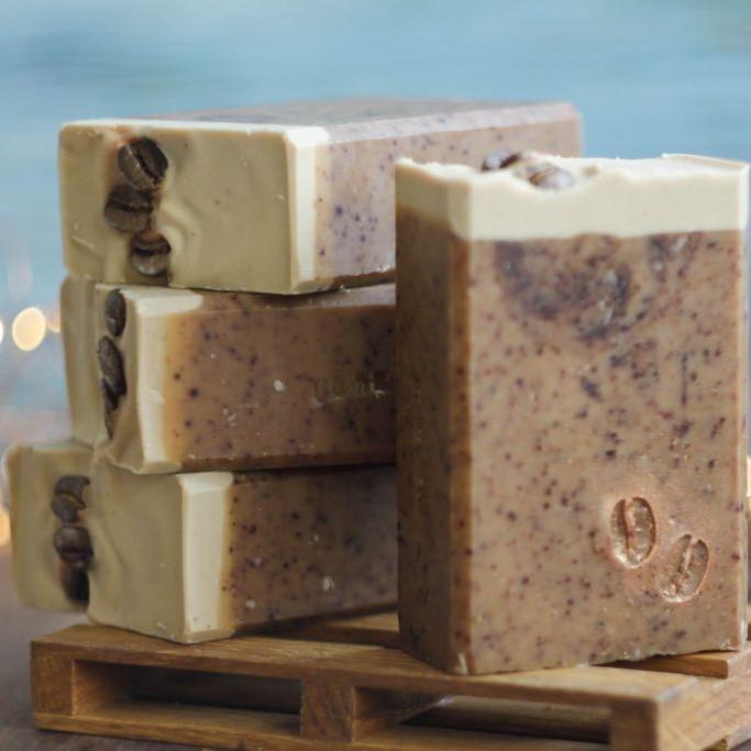 BRUSNIKA мыло натуральное Кофемания