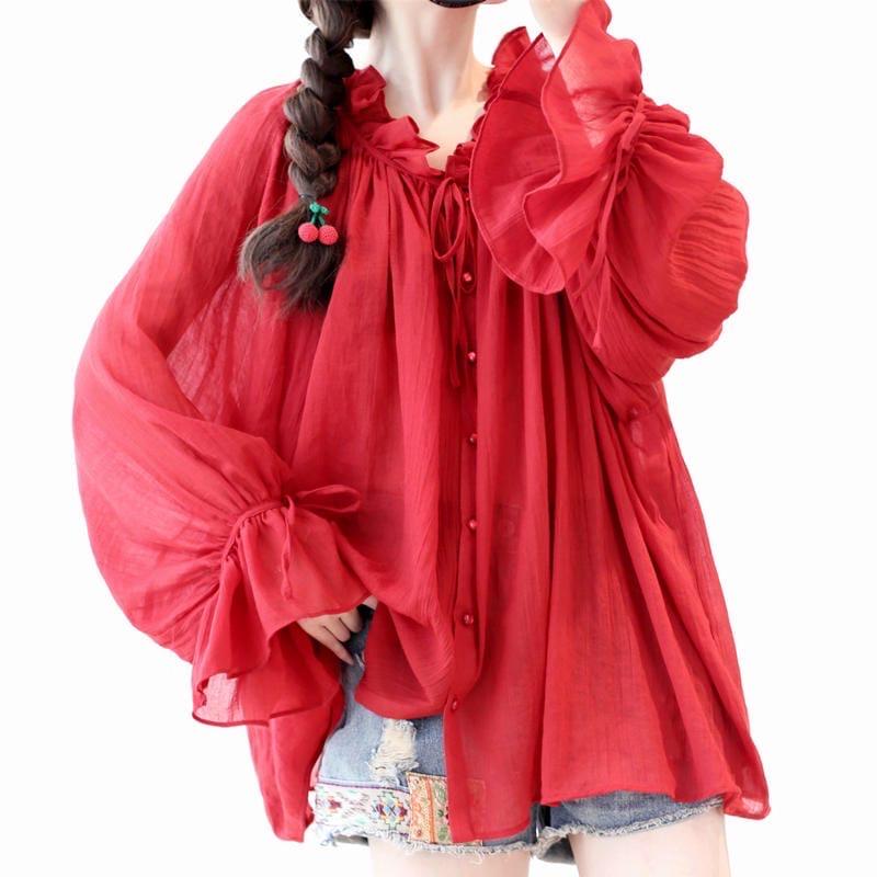 Красная блузка (шоу-рум)