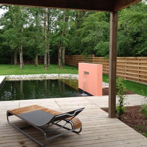 vue piscine naturelle
